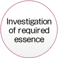 Investigation of required essence